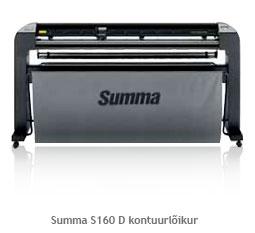 SUMMA S160 T seeria kontuurlõikur